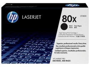 HP originální toner CF280XC black 80X HP kontraktový produkt