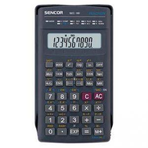 Kalkulačka SENCOR SEC 185 černá školní desetimístná