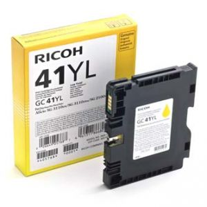 Gelová cartridge RICOH GC41Y yellow, 600str., pro AFICIO SG 2100N