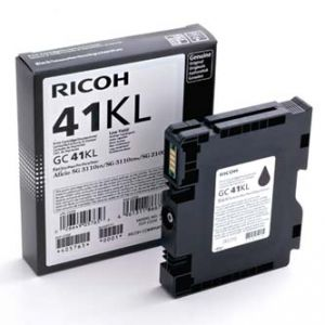 Gelová cartridge RICOH GC41KL black, 600str., pro AFICIO SG 2100N