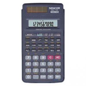 Kalkulačka SENCOR SEC 133 černá školní dvanáctimístná