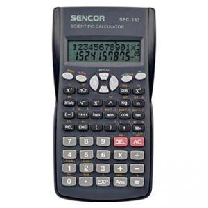 Kalkulačka SENCOR SEC 183 šedá školní dvanáctimístná