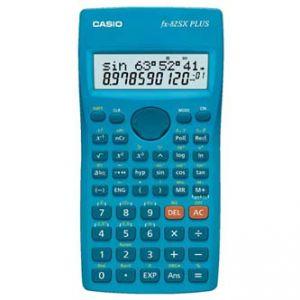 Kalkulačka CASIO FX 82SX PLUS, modrá, školní, dvanáctimístná
