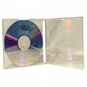 Box na 1 ks CD, průhledný, průhledný tray, 10,4 mm, 200-pack, cena za 1 ks