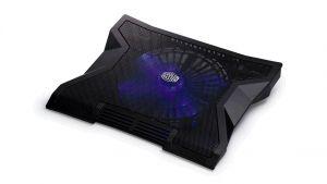 chladicí podstavec Cooler Master NotePal XL pro NTB 9-17 black, 23cm blue led fan, 3port U