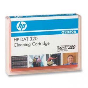 HP čistící kazeta - DAT 320 SAS Internal Tape Drive, 320/GB 320GB, oranžová, Q2039A, pro a