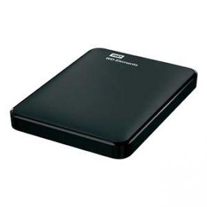 """WESTERN DIGITAL externí pevný disk, Elements Portable, 2.5"""", USB 3.0/USB 2.0, 1TB, WDBUZG0"""