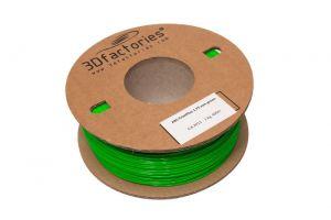 Tisková struna Pro 3D tiskárny 3D Factories ABS Filament zelená 1,75mm 1 Kg