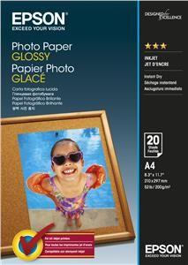 Photo Paper Glossy EPSON A4 20 listů