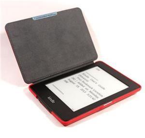 C-TECH PROTECT pouzdro pro Kindle PAPERWHITE s funkcí WAKE/SLEEP, hardcover, AKC-05, červe