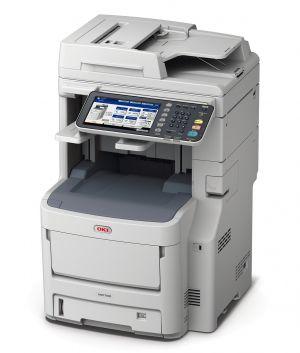 OKI MC780dfnfax Multifunkční tiskárna A4 barevná LED 4v1 rozlišení tisku 1200 x 600 dpi