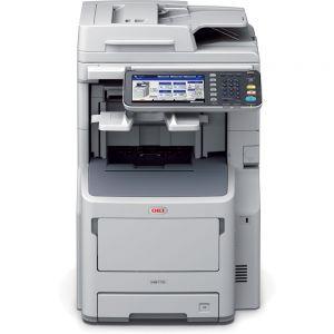 OKI MB770dfnfax Multifunkční tiskárna A4 černobílá 4v1 LED rozlišení tisku 1200x1200, RADF