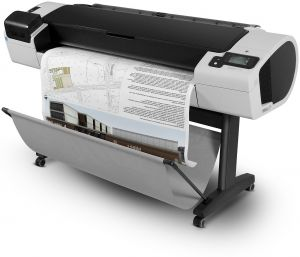 "Plotr HP Designjet T1300 44"" PostScript, stojan, A0"