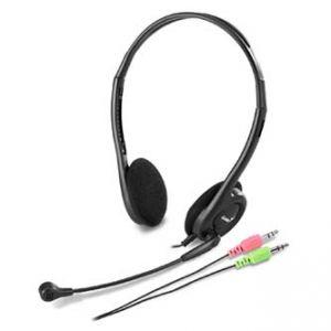 GENIUS, HS-200C, sluchátka s mikrofonem, černá, 3.5mm konektor