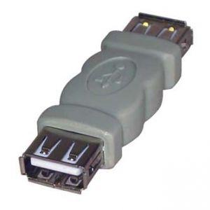 Spojka USB 2x samice USB (A)-USB(A)
