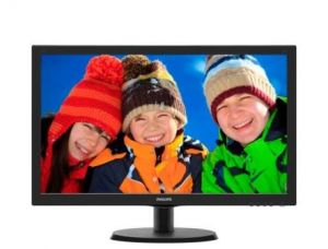"PHILIPS LCD 223V5LSB 21,5""wide 1920x1080 5ms 10mil:1 DVI Monitor  LED"