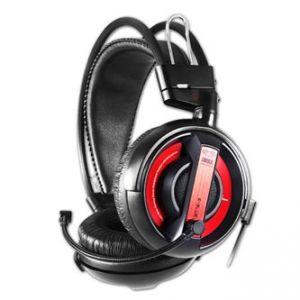 E-BLUE Cobra Herní sluchátka s mikrofonem černá 3.5mm konektor