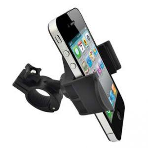 Držák mobilu na kolo nastavitelná šířka černý kloubový
