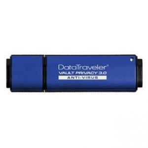 KINGSTON USB Flash Memory DataTraveler Vault 3.0, 64GB Data Traveler Vault Privacy Anti-