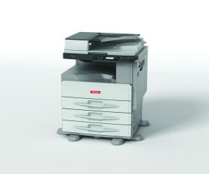 Multifunkční kopírovací stroj NRG MP2001L s RADF A3 černobílá, Duplex Tisk Scan Kopi