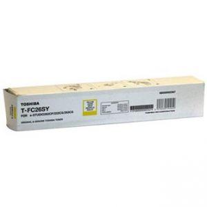 TOSHIBA originální toner TFC26SY yellow 6000str. 6B000000569 high capacity