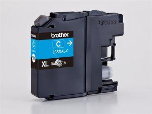 BROTHER LC-525XLC Originální ink cyan 1300str. pro Benefit DCP J100, DCP J105, MFCJ200