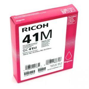 RICOH 405763 originální gelová náplň magenta, 2200str. GC41HM SG 3110DN, 3110DNw, 3100SN