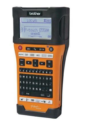 BROTHER PT-E550WVP Tiskárna samolepicích štítků s kufrem USB, Baterie, Adapter