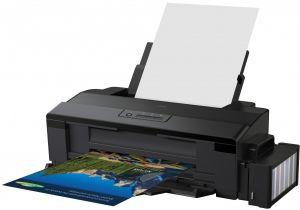 EPSON L1800 15 ppm Tiskárna  A3+, 6 ink ITS Tisk, Copy, Scan, inktank