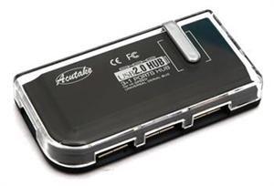 ACUTAKE DarkHub 1 (Redukce USB Hub 2.0) BLACK