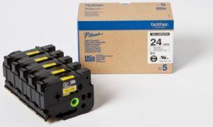 BROTHER HGE-651V5 žlutá / černá 24mm