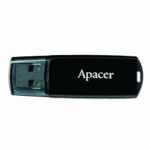 APACER USB Flash Drive, 2.0, 8GB, AH326 8GB Flash Drive, bílý, AP8GAH326W-1