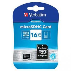 VERBATIM Micro SDHC 16GB 44082 Class 10 pro archivaci dat