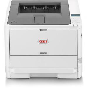 OKI B512dn A4 45ppm 1200x1200 dpi,PCL6,PS3, LAN, USB 2.0, duplex