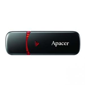 APACER USB Flash Drive, 2.0, 16GB, AH333 16GB Flash Drive, černý