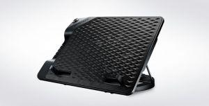 chladicí podstavec Cooler Master NotePal ErgoStand III pro NTB do 17, USB hub, black, 23cm