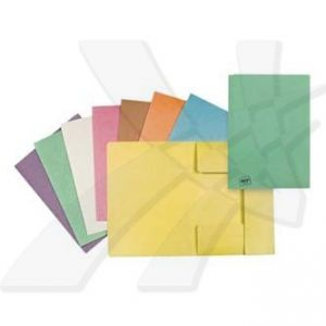 Mapa tříklopá H, A4, oranžová, Hit Office, eko