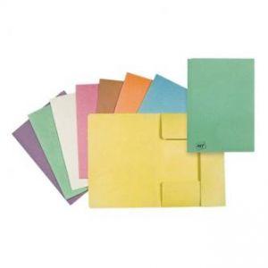 Mapa tříklopá H, A4, zelená, Hit Office, eko, cena za 1ks10ks