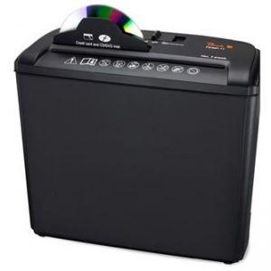 PEACH skartovačka PS400-11 -až 5 listů A4 80g/koš 7 L/ drtí CD, sponky, karty /řez 7mm