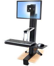 ERGOTRON WorkFit-S, Single HD Sit-Stand Workstation, nastavitelný stolní držák pro monitor