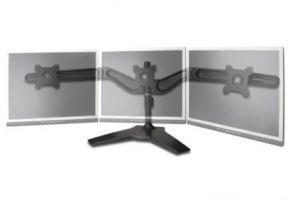 """DIGITUS stolní stojan pro tři monitory, černý, 15""""-24"""" TFT, VESA(75x75mm a 100x100mm), max"""