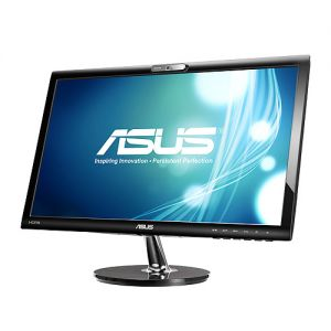 ASUS VK228H LED 21.5 wide FHD, 5ms GtG, 80mil:1, repro, DVI,HDMI,webcam,č..