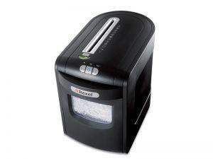 REXEL MERCURY REM723 Skartovací stroj, až 8 listů A4 80g/koš 23 l/ řez 1,9x15 mm/sponky