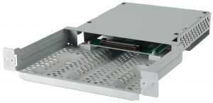 Adapter to insert a STv2 Slot-in Product into an NEC Public Display with Dual Slot.