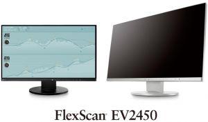 "EIZO 24"" EV2450-BK, 1920 × 1080, IPS,16:9, 5ms, 250 cd/m2, 1000:1, DP/HDMI/DVI/Dsub, ultra"