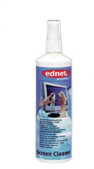 EDNET. - Speciální čistící prostředek na obrazovky, sklo plastové povrchy 250ml rozprašova