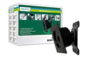 DIGITUS VESA držák LCD nástěnný otočný max.( VESA 75x75, 100x100) 15 kg