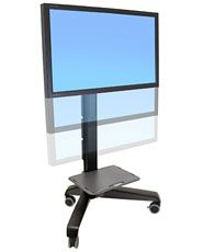 ERGOTRON Neo-Flex Mobile MediaCentre Cart UHD,ERGOTRON BLACK - mobilní stojan pro LCD + př