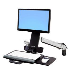 ERGOTRON StyleViewR Sit-Stand Combo Arm,nástěnný držák do lišty LCD, klávesnice+ myš,sklop