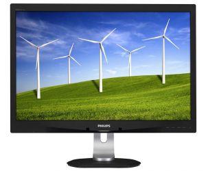 "PHILIPS LCD 240B4QPYEB 24""wide/1920x1200/5ms/20mil:1/VGA/DVI/DP/2xUSB/LED/PLS/PowerSensor/"